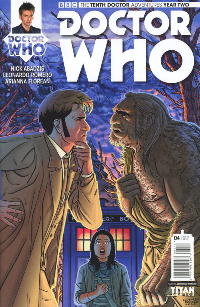 Doctor Who: The Tenth Doctor Year Two #4