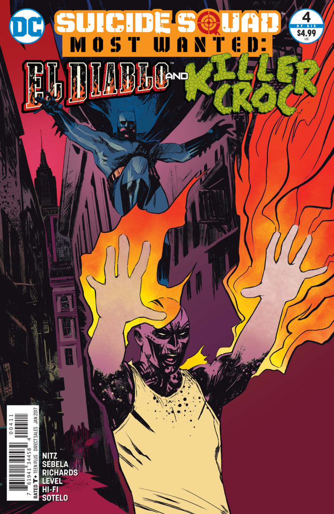 Suicide Squad Most Wanted: El Diablo & Killer Croc #4