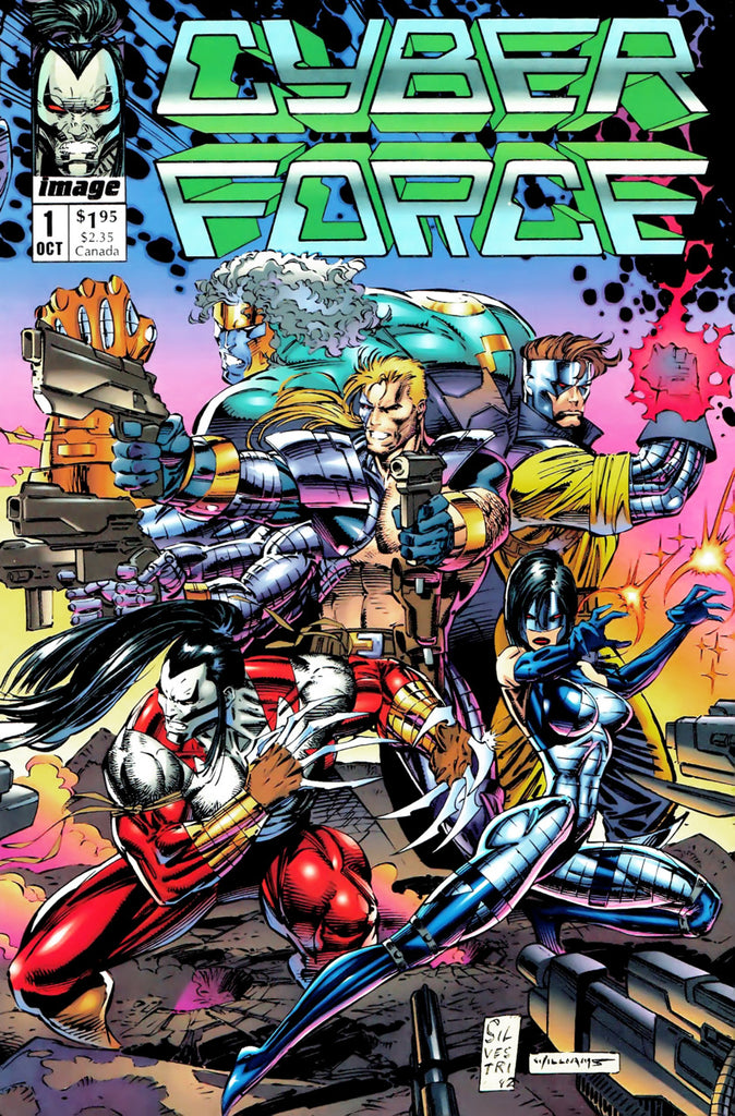Cyber Force (1992) #01