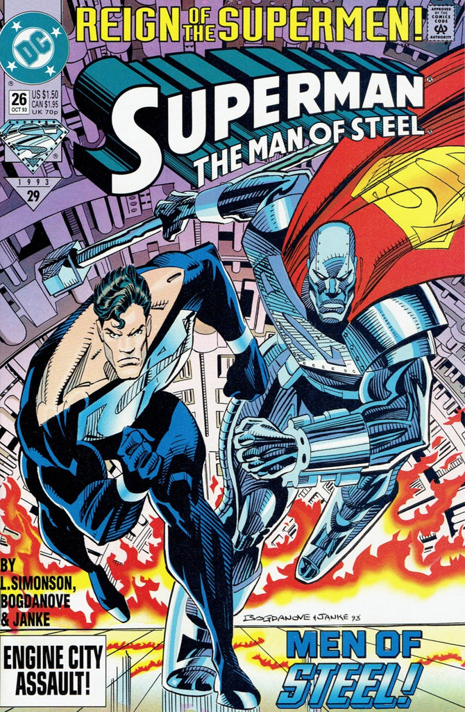 Superman: The Man of Steel #26