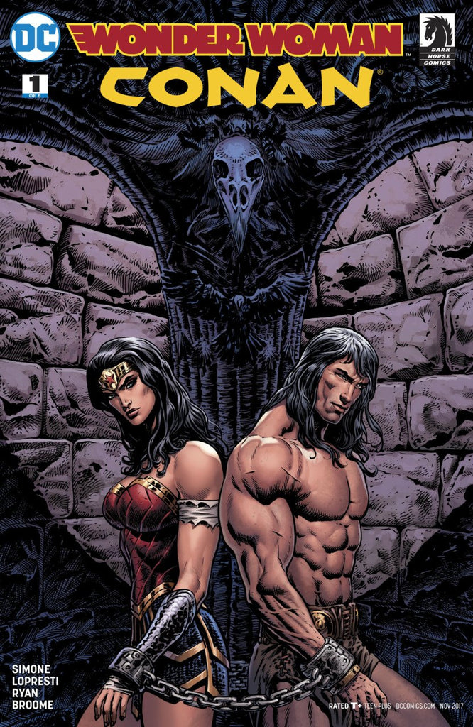 Wonder Woman/Conan #1