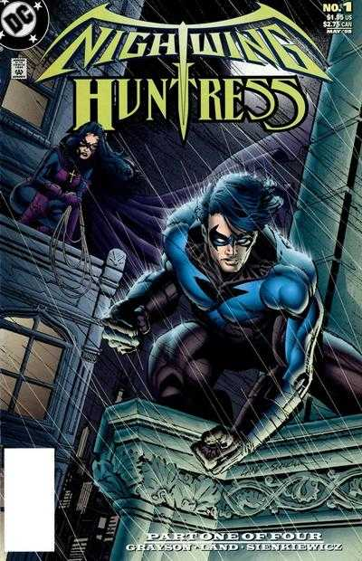 Nightwing & Huntress 4x Set