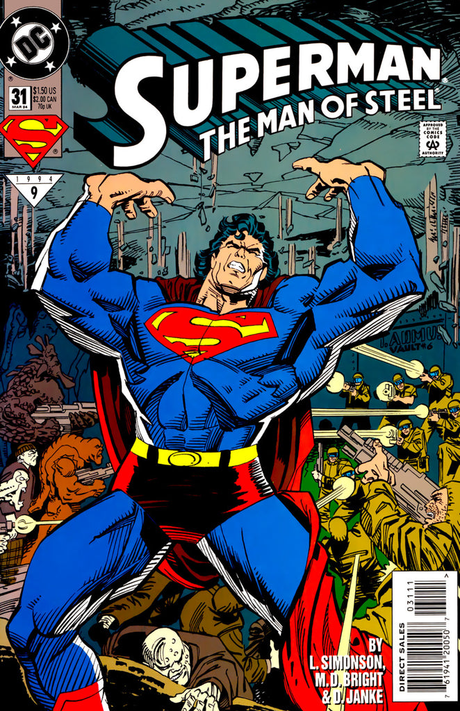 Superman: The Man of Steel #31