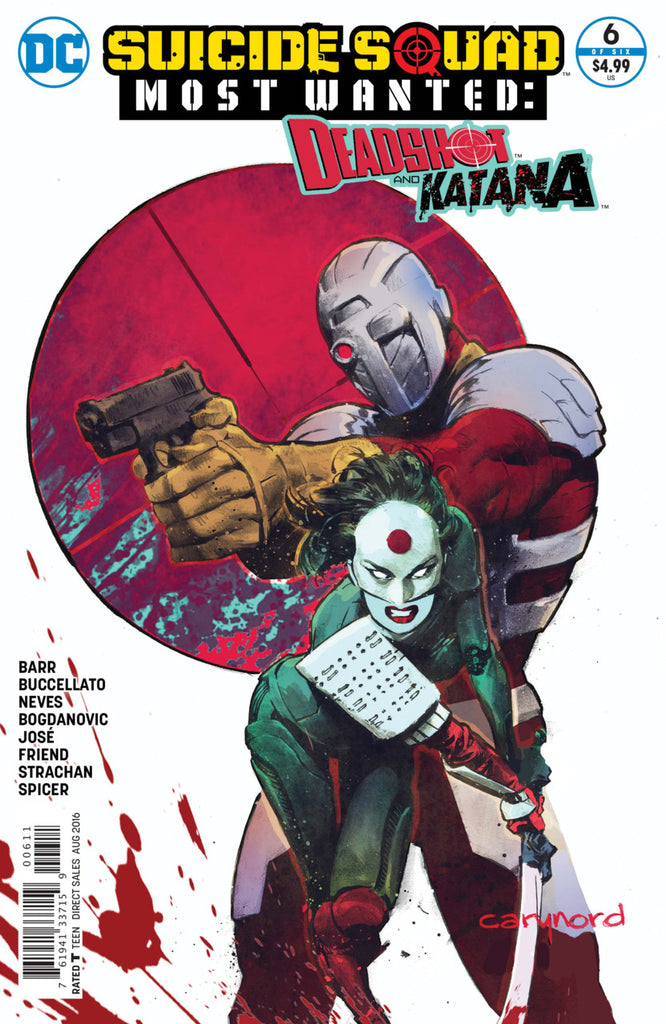 Suicide Squad Most Wanted: Deadshot & Katana #6
