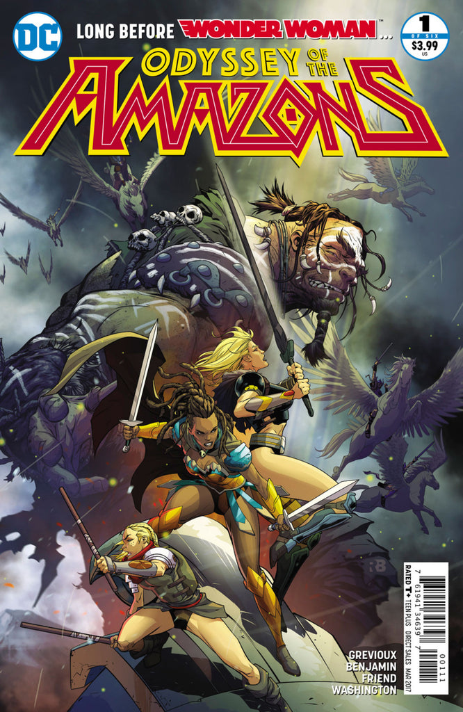 Odyssey of the Amazons #1