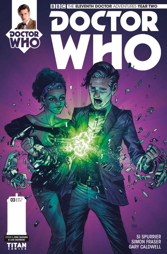 Doctor Who: The Eleventh Doctor Year Two #3