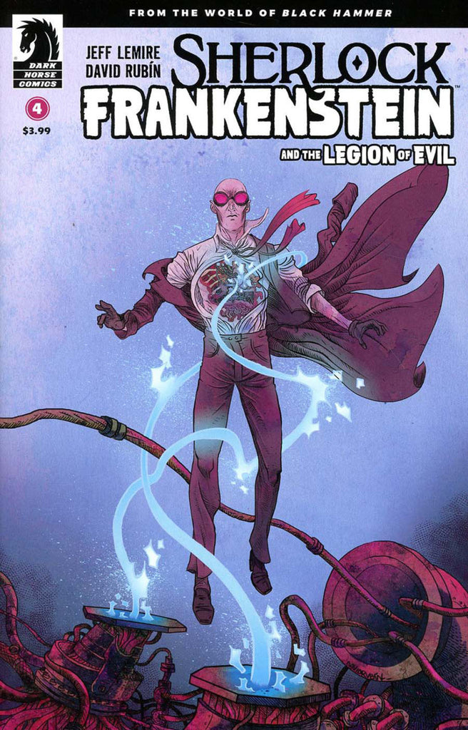 Sherlock Frankenstein & the Legion of Evil #4
