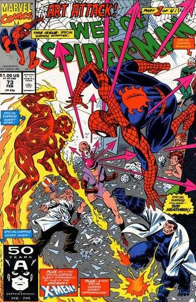 Web of Spider-Man #73