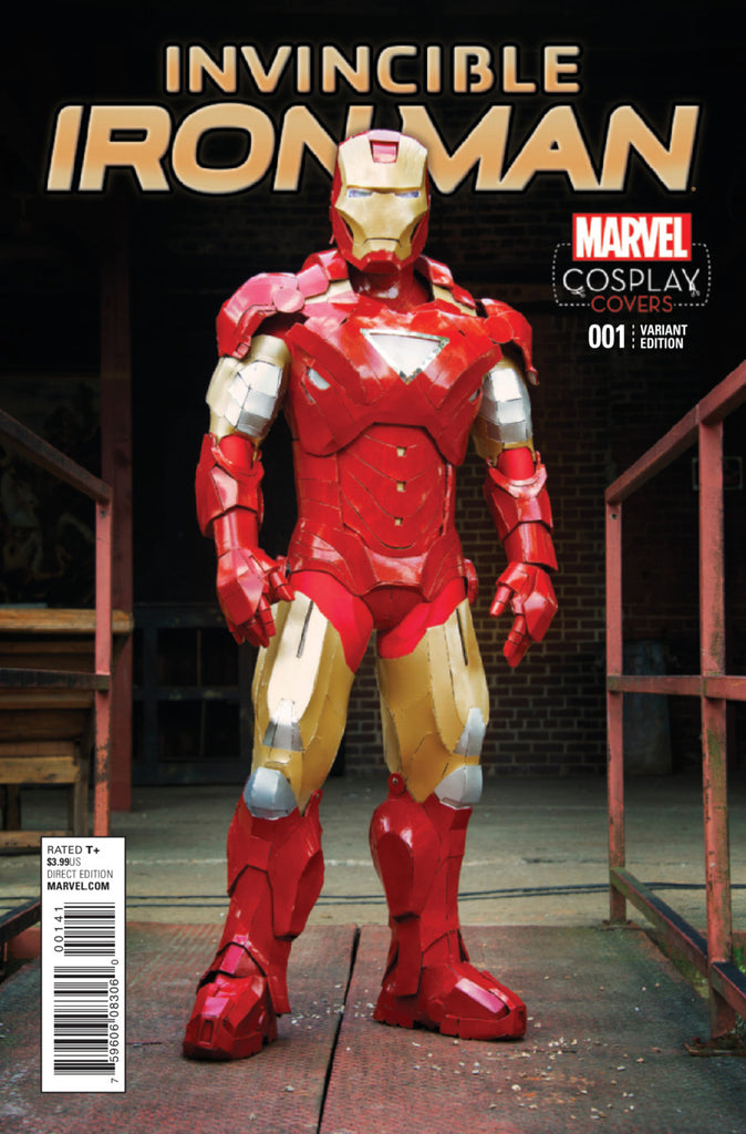 Invincible Iron Man (2015) #01 Variant