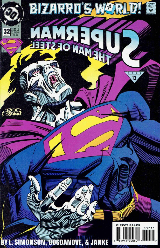 Superman: The Man of Steel #32