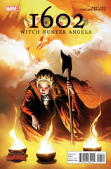 1602 Witch Hunter Angela #1 - R. Isanove Variant - Secret Wars Tie-In