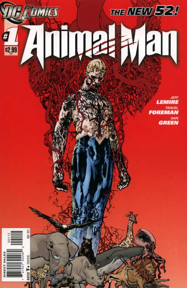 Animal Man (2011) #01 - 2nd Print