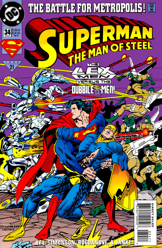 Superman: The Man of Steel #34