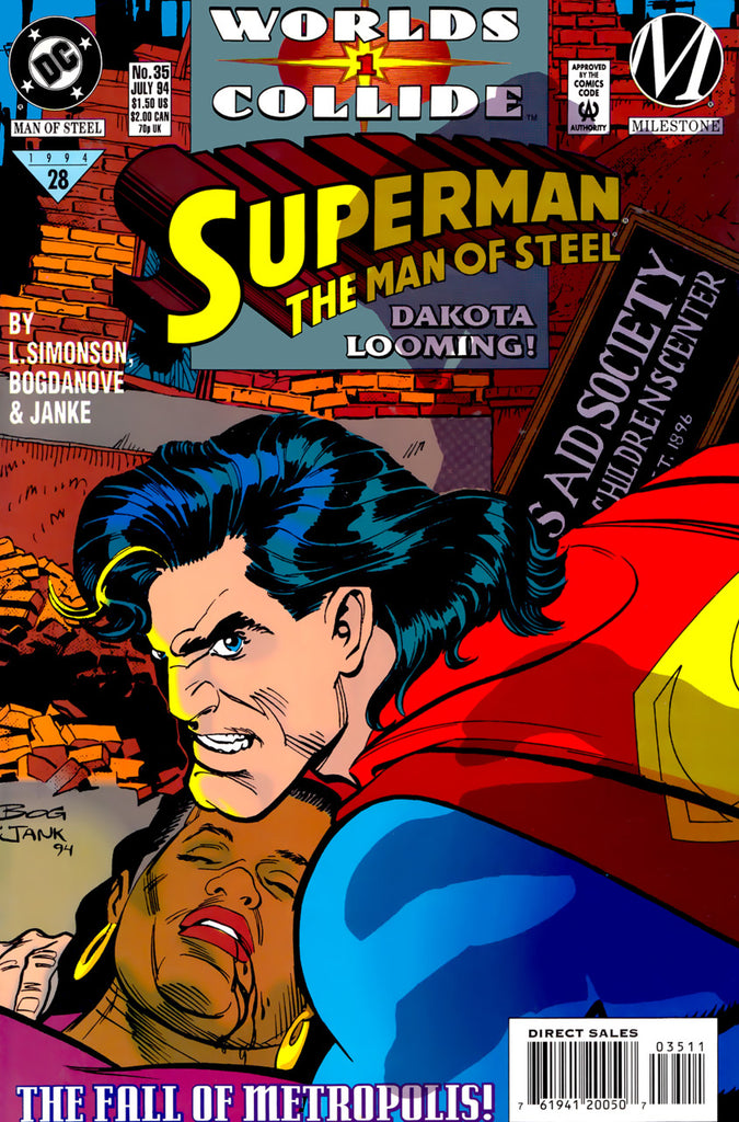 Superman: The Man of Steel #35