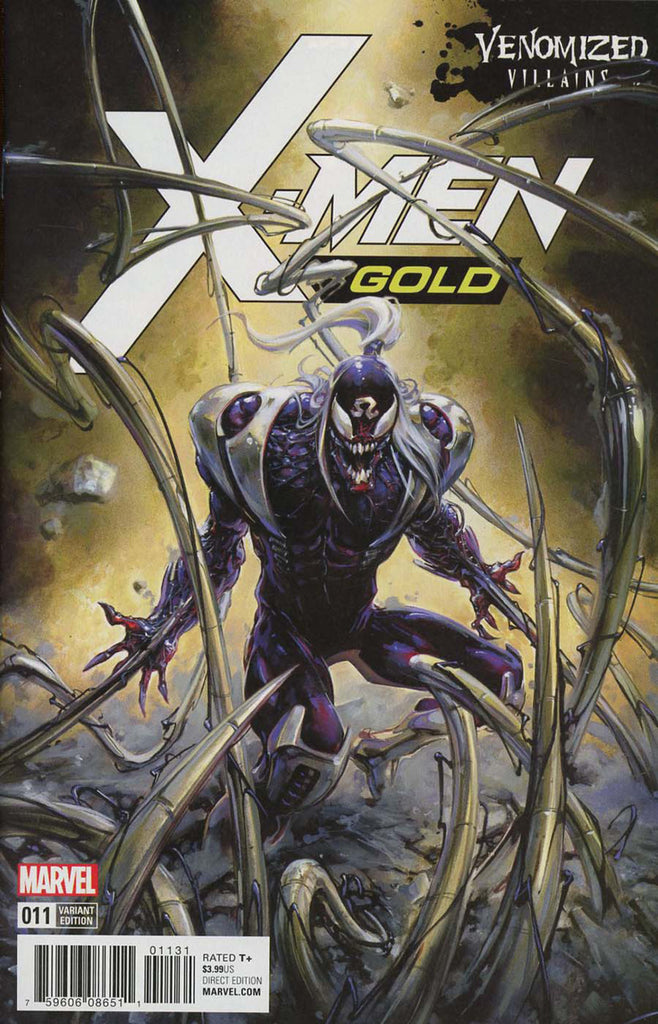 X-Men: Gold #11 - Venomized Variant