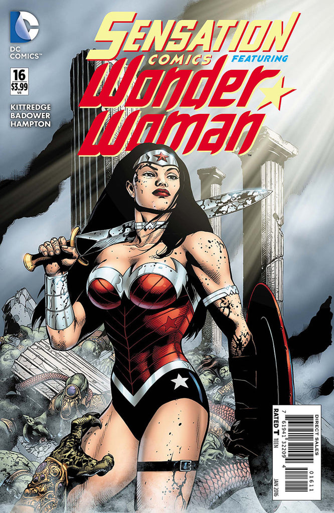Sensation Comics Featuring Wonder Woman #16