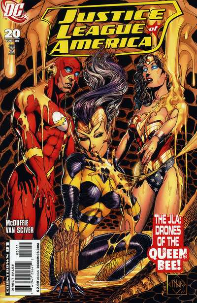 Justice League of America (2007) #20