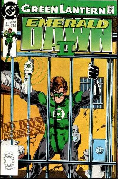 Green Lantern: Emerald Dawn II 6x Set