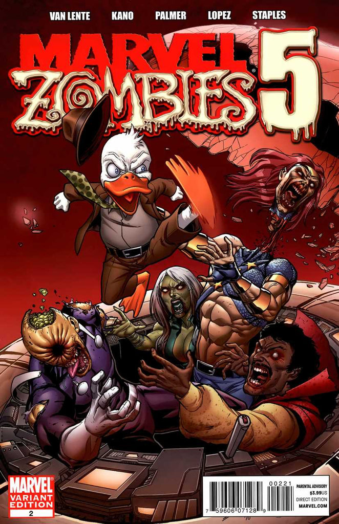Marvel Zombies 5 #1 Variant