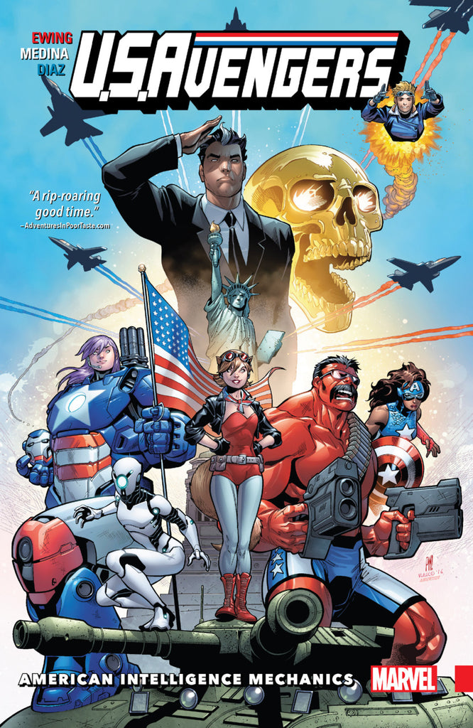 U.S.Avengers: American Intelligence Mechanics Vol 1
