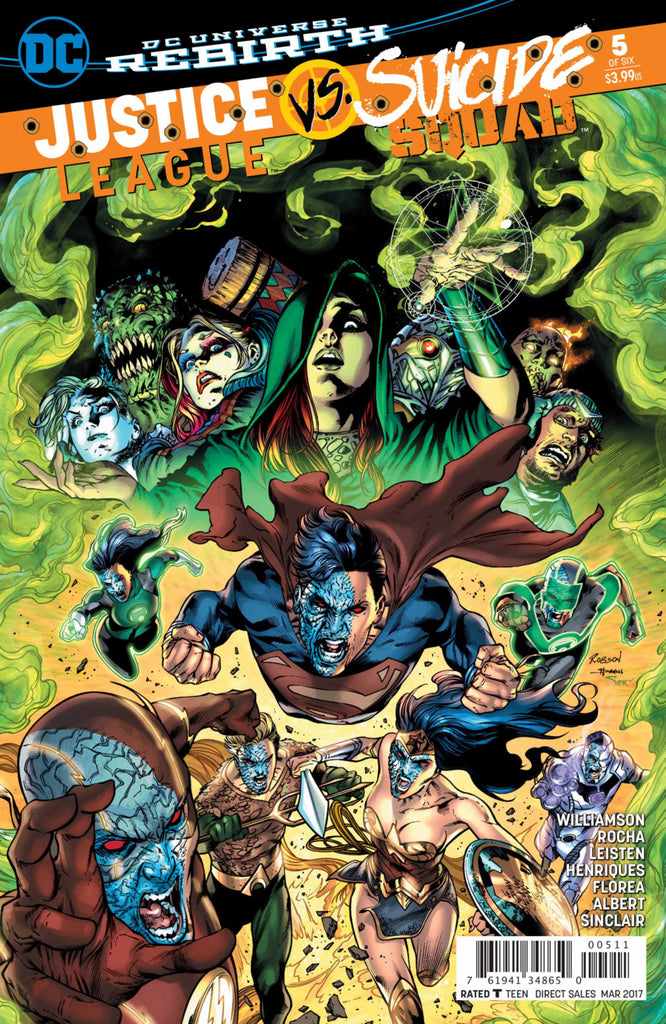 Justice League vs. Suicide Squad #5