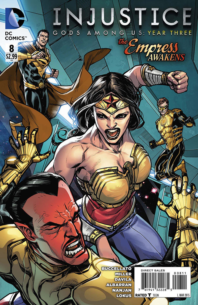 Injustice: Gods Among Us Year Three #08