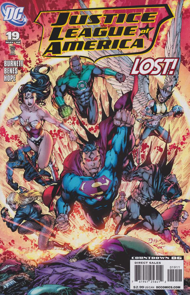 Justice League of America (2007) #19