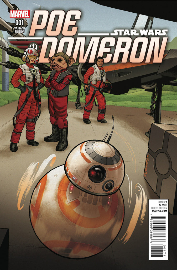 Star Wars: Poe Dameron #01 - Variant