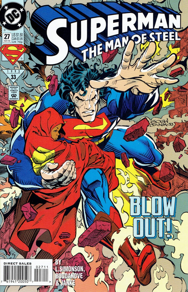 Superman: The Man of Steel #27
