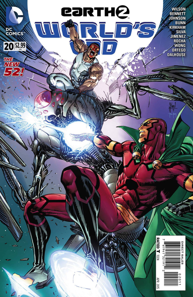 Earth 2: World's End #20