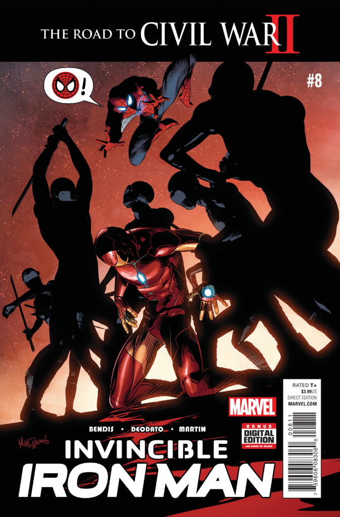 Invincible Iron Man (2015) #08