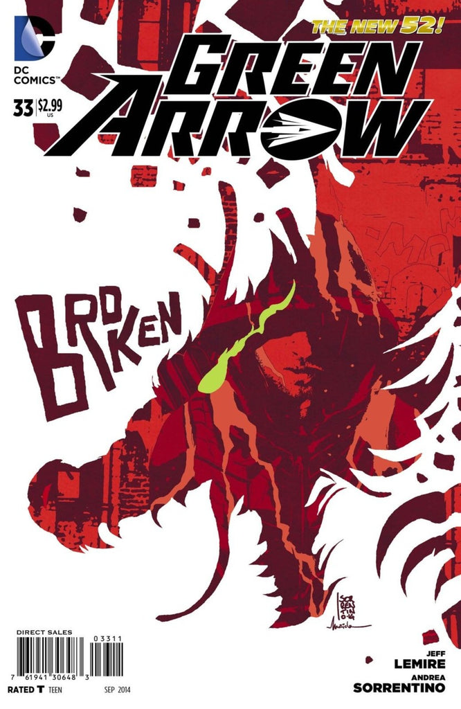 Green Arrow (2011) #33