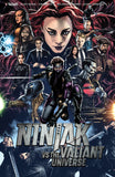 Ninjak vs. the Valiant Universe 4x Set