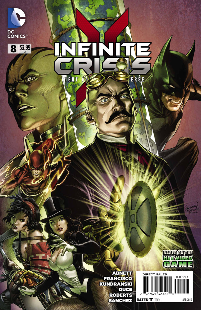 Infinite Crisis: Fight For the Multiverse #08