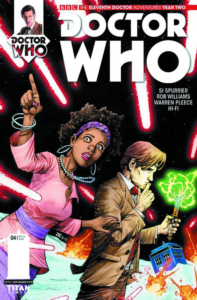 Doctor Who: The Eleventh Doctor Year Two #4