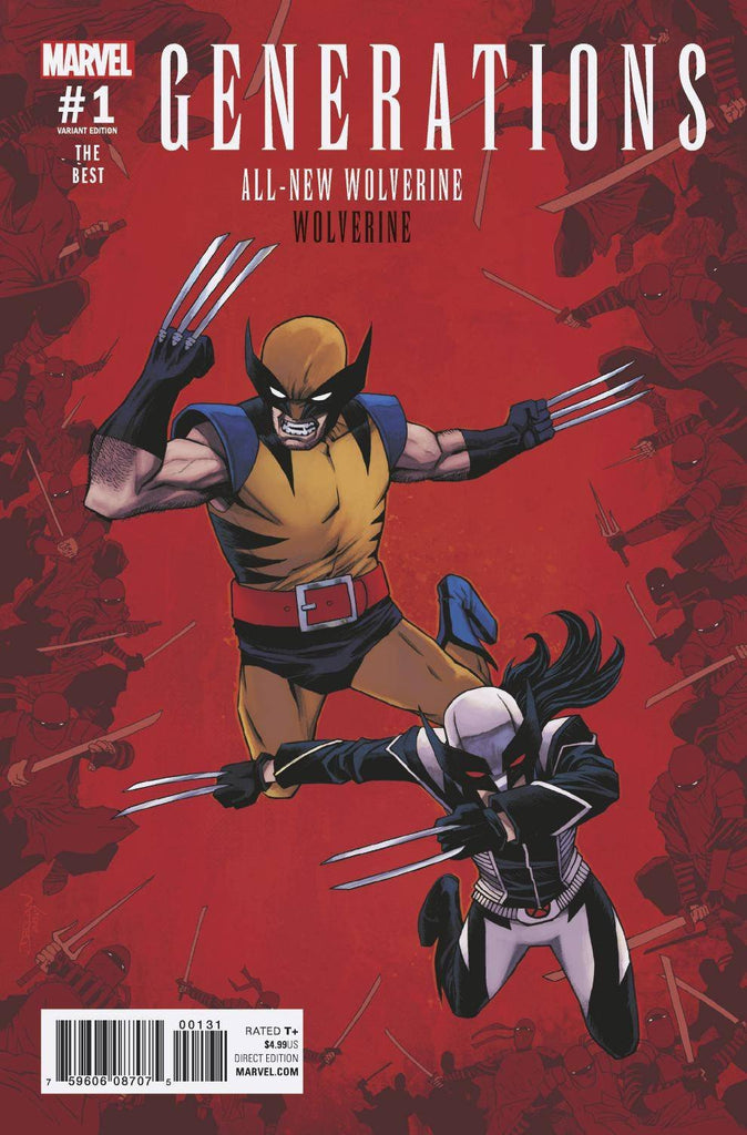 Generations: Wolverine & All-New Wolverine #1 Variant