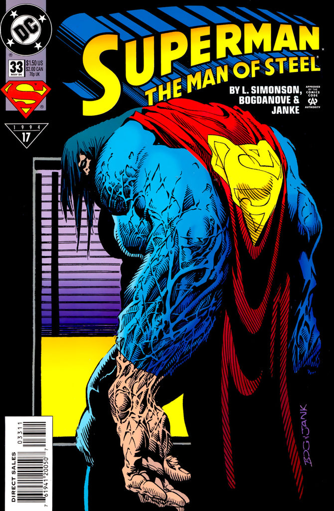 Superman: The Man of Steel #33