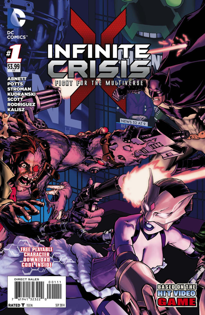 Infinite Crisis: Fight For the Multiverse #01