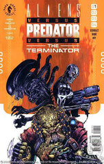 Aliens vs Predator vs The Terminator 4x