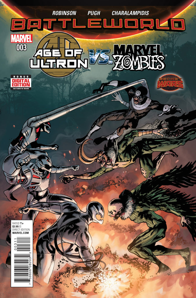 Age of Ultron vs Marvel Zombies #3