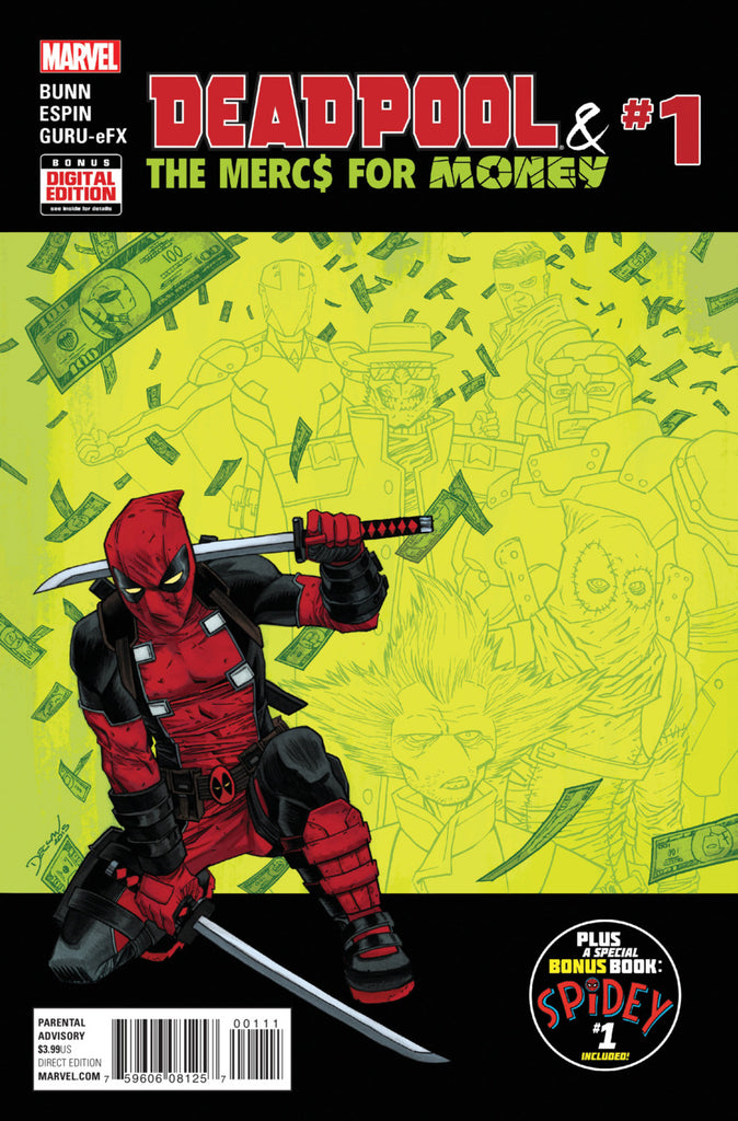 Deadpool & The Mercs For Money (Vol 1) #01