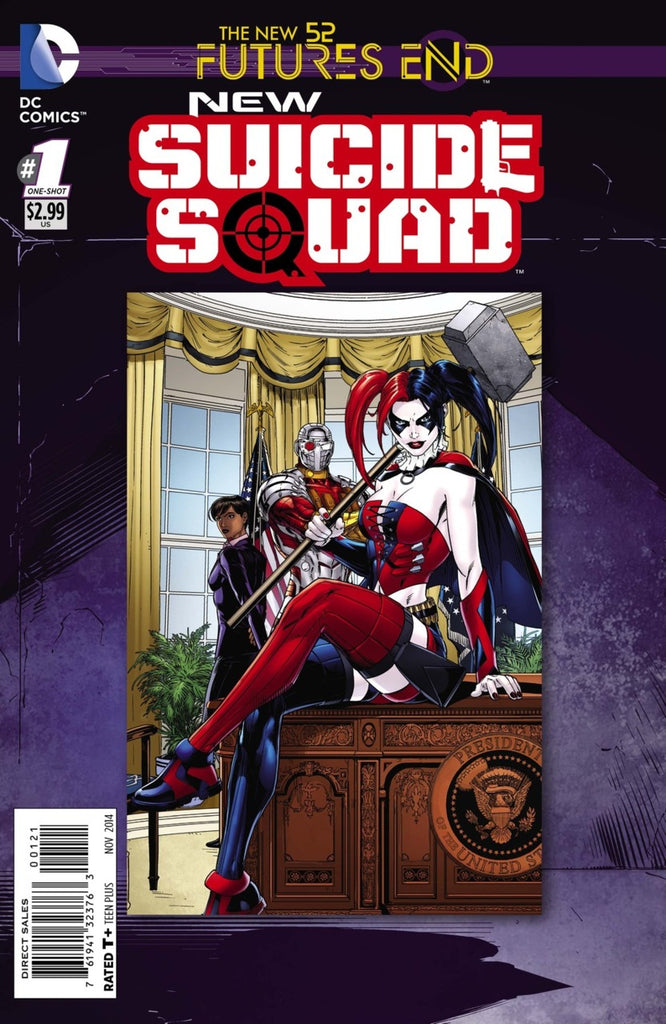 New Suicide Squad: Futures End #1 Lenticular + Regular Cover Pack