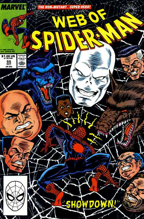 Web of Spider-Man #55