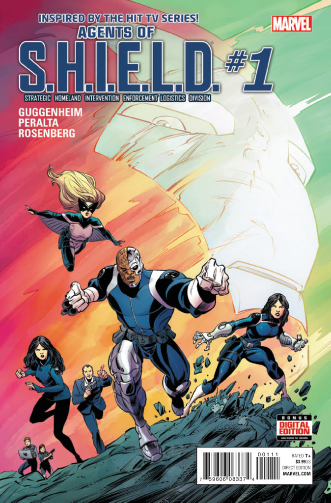 Agents of SHIELD #01