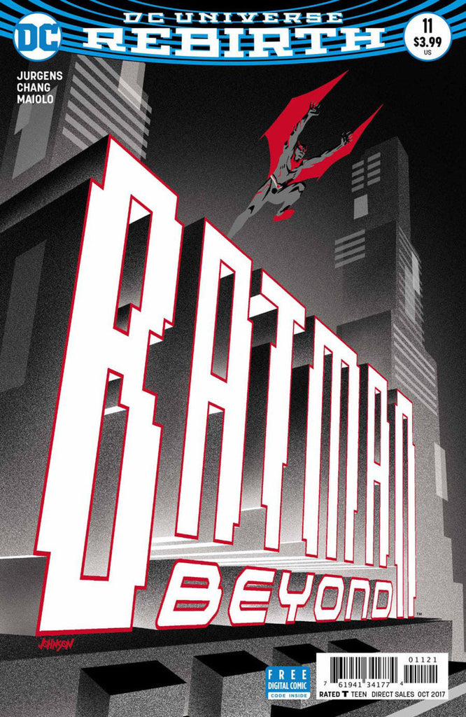 Batman Beyond (2016) #11
