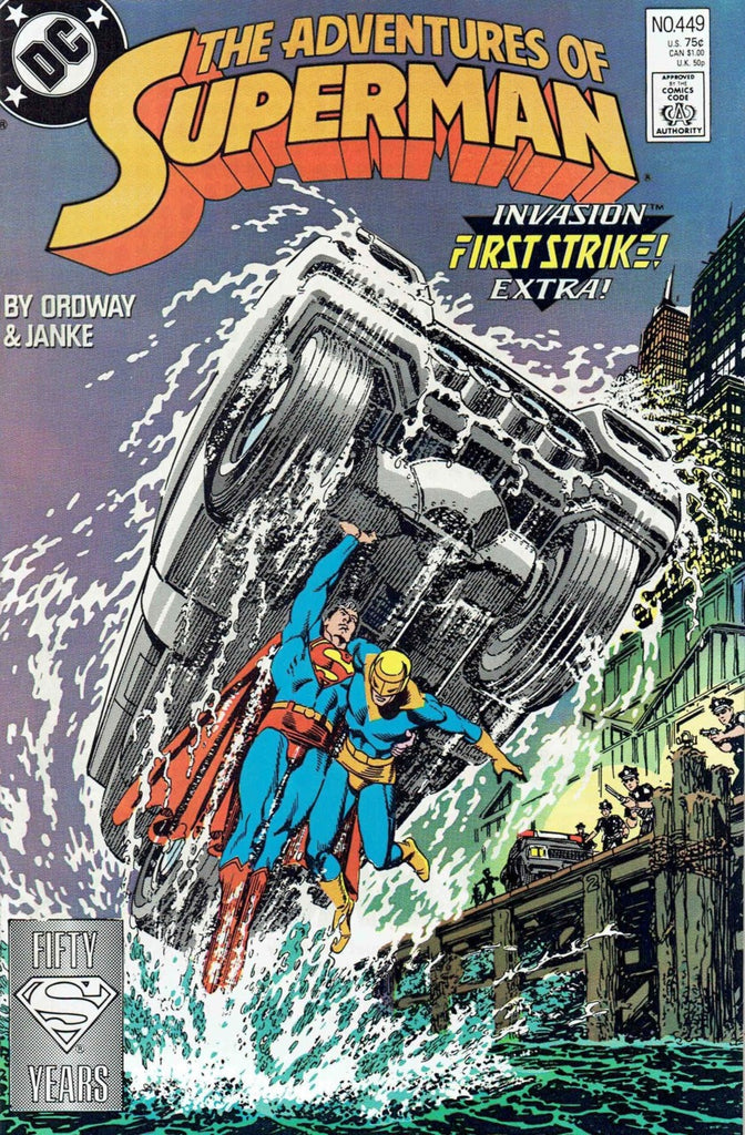 Adventures of Superman #449