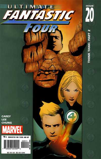 Ultimate Fantastic Four #20