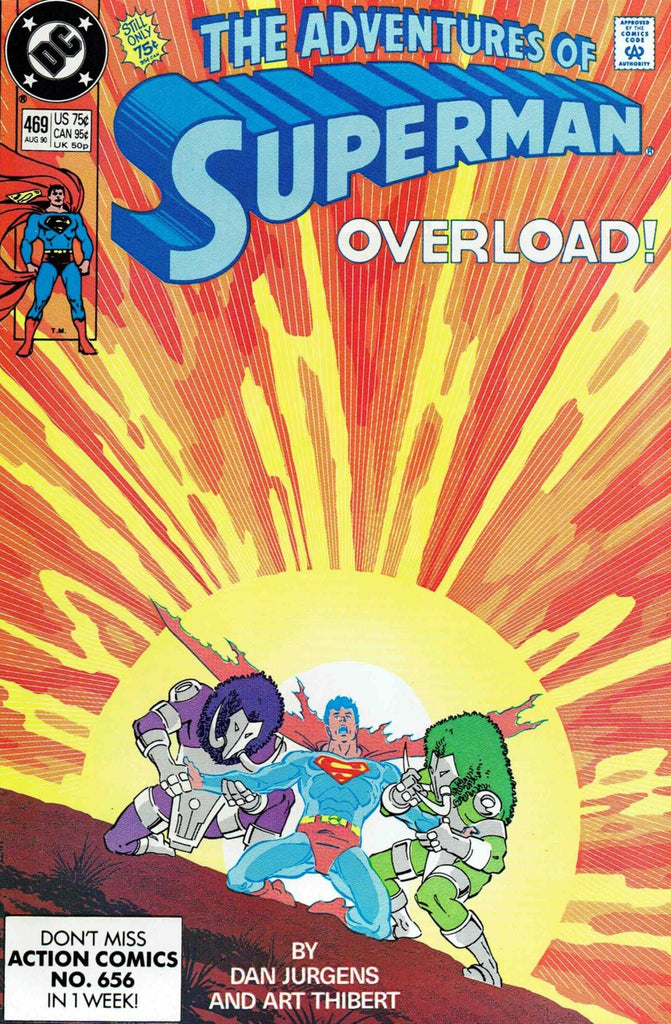 Adventures of Superman #469