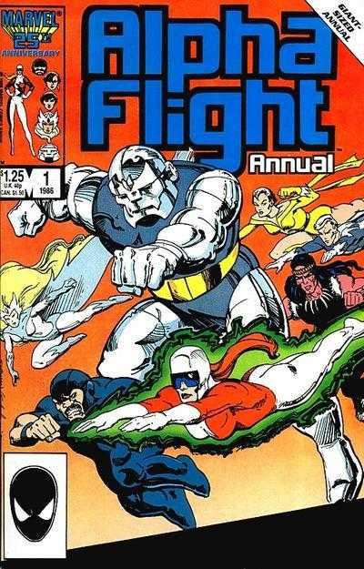 Alpha Flight Annual #01
