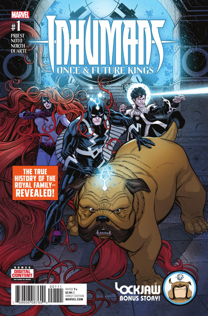 Inhumans: Once & Future Kings #1